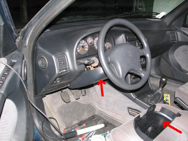 tuto demontage du volant avec airbag. Black Bedroom Furniture Sets. Home Design Ideas