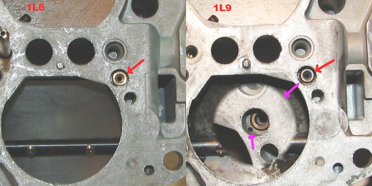 [TUTO] Fonctionnement et réglage carburateur solex 34-34 Z 1 Comparaison_calibrage_ralenti_1L6_1L9