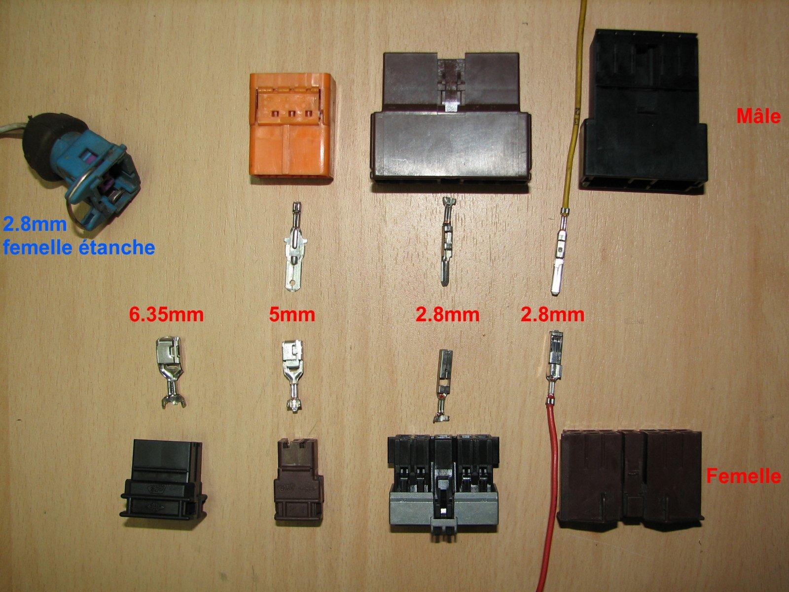 Connecteur faisceau electrique